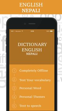Nepali Dictionary poster