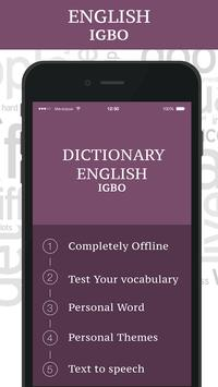 Igbo Dictionary poster