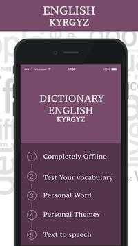 Kyrgyz Dictionary poster