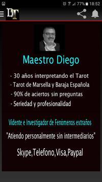 Diego Tarot apk screenshot