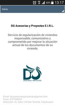 DG Asesorías y Proyectos E.I.R.L. poster