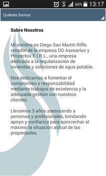 DG Asesorías y Proyectos E.I.R.L. apk screenshot