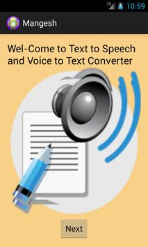 Text to Speech to Text poster