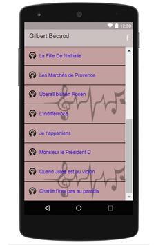 Gilbert Bécaud screenshot 2