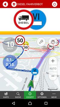 Dieselfahrverbote, Blitzer & Navigation by POIbase screenshot 4