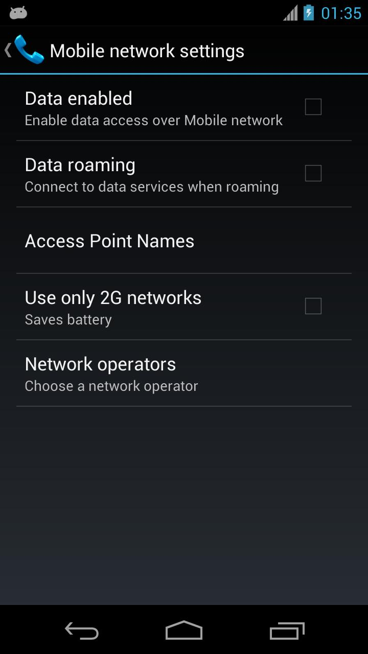 Mobile Network Settings for Android - APK Download