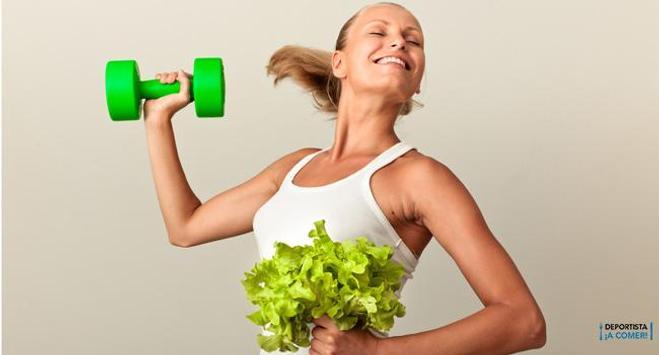 Dieta y Fitness poster