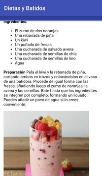 Diets and smoothies to lose weight screenshot 3