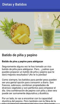 Diets and smoothies to lose weight screenshot 5