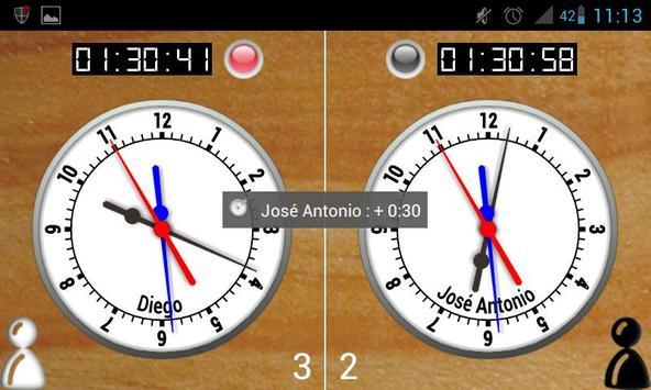 SensorChessClockFree apk screenshot