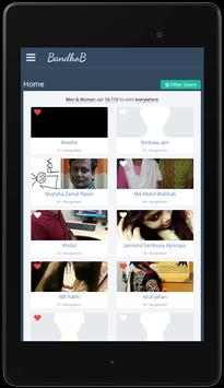 Best Free Dating App : BandhoB apk screenshot