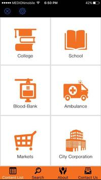Chittagong Emergency Contacts apk screenshot
