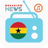 Ghana All Radios, Music & News: All Ghana's Media icon