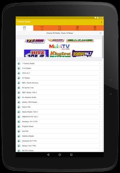 Ghana All Radios, Music & News: All Ghana's Media screenshot 7