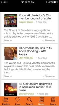 Ghana All Radios, Music & News: All Ghana's Media screenshot 2