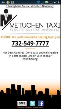 Metuchen Taxi poster