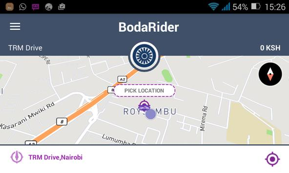 BodaRider - Beta screenshot 2