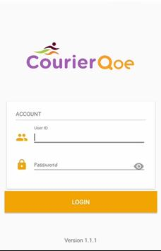 CourierQoe Mobile App poster
