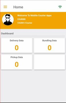 CourierQoe Mobile App apk screenshot