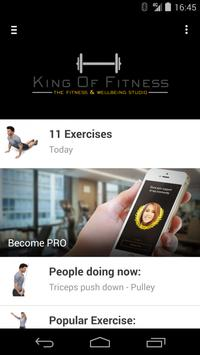 King of Fitness poster