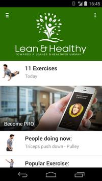 Lean & Healthy poster