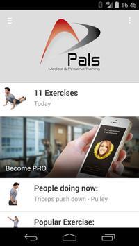 Pals Fitness en Fysiotherapie poster