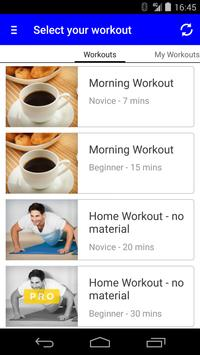 V Fitness screenshot 1