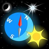 Stylish Compass (no ads) icon