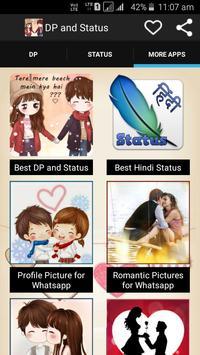 Best DP and Status apk screenshot