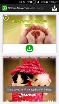 Status Saver for Whatsapp الملصق