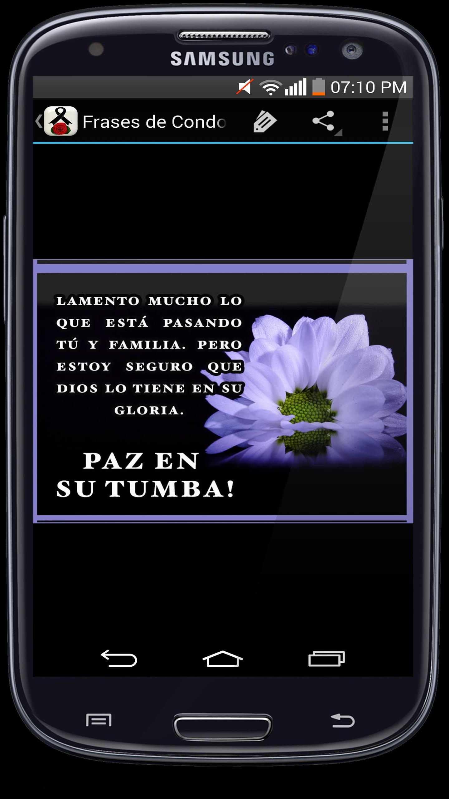 Frases Para Duelo Luto Pésame Y Condolencias For Android