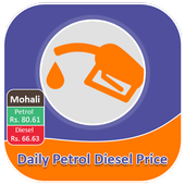 Daily Petrol Diesel Price :Fuel Price Daily Update icon