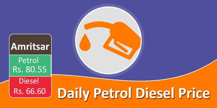 Daily Petrol Diesel Price :Fuel Price Daily Update poster