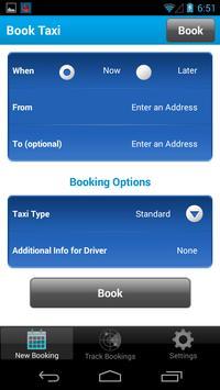 Bluebird Cabs Ltd screenshot 1