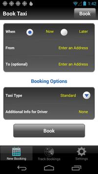 United Taxi Services screenshot 1