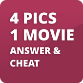 4 Pics 1 Movie Cheat & Answers icon