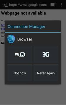 Connection Manager apk screenshot