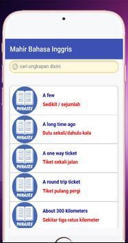 Mahir Bahasa Inggris screenshot 1