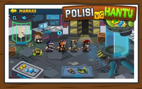 Polisi vs Hantu Pocong, Genderuwo, Tuyul - Defense screenshot 9