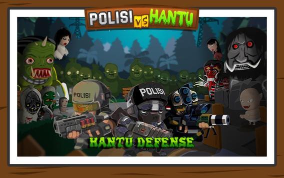 Polisi vs Hantu Pocong, Genderuwo, Tuyul - Defense poster