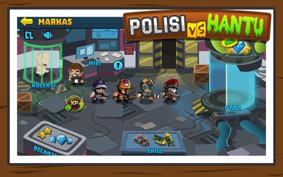 Polisi vs Hantu Pocong, Genderuwo, Tuyul - Defense screenshot 1
