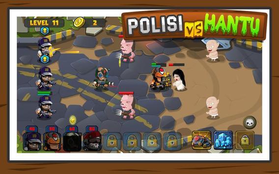 Polisi vs Hantu Pocong, Genderuwo, Tuyul - Defense screenshot 2