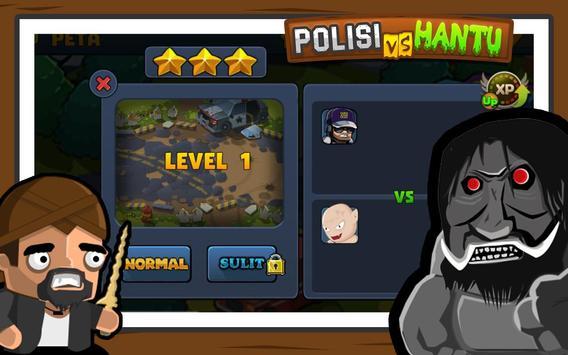Polisi vs Hantu Pocong, Genderuwo, Tuyul - Defense screenshot 3
