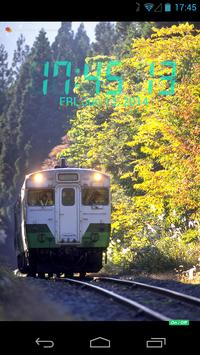 デジタル時計トレイン apk screenshot