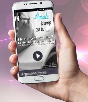 FM Pentecostal 96.7 poster