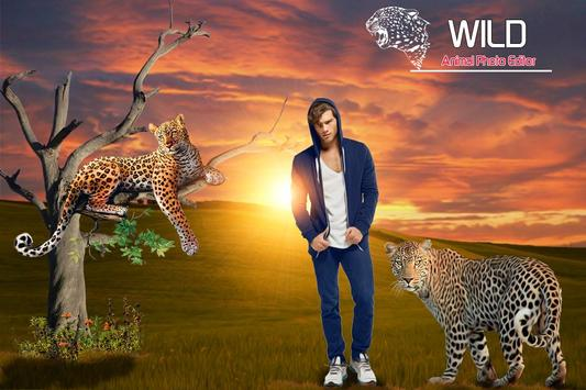 Wild Animal Photo Editor poster