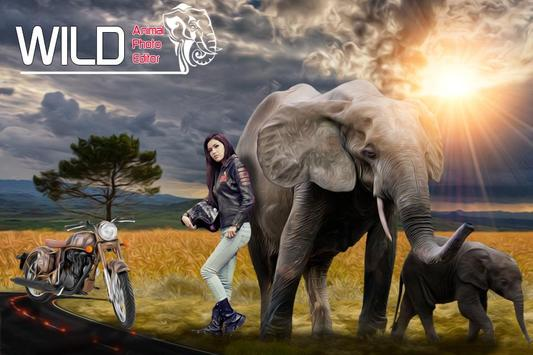 Wild Animal Photo Editor screenshot 1