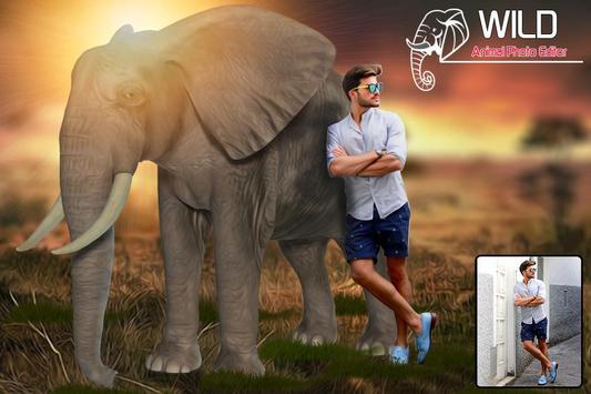 Wild Animal Photo Editor screenshot 2