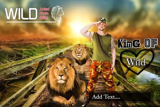 Wild Animal Photo Editor screenshot 4