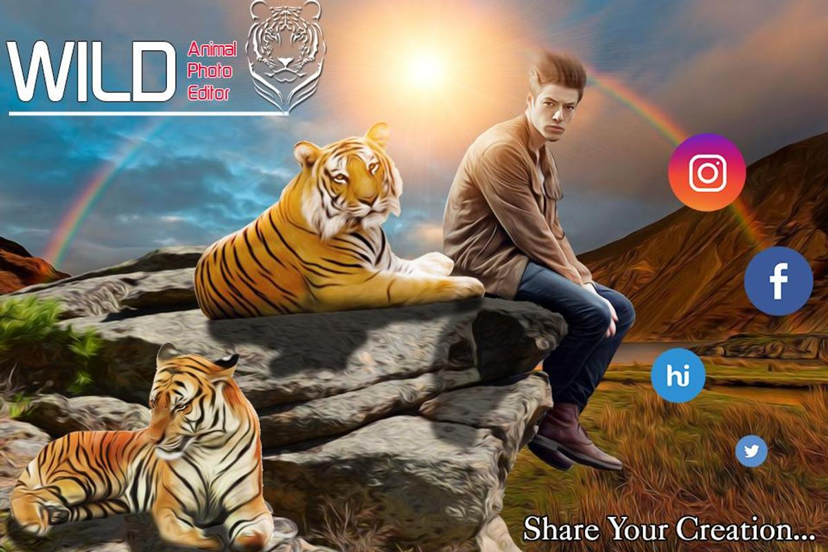 Wild Animal Photo Editor For Android Apk Download